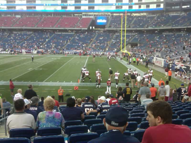 Section 127, Row 14