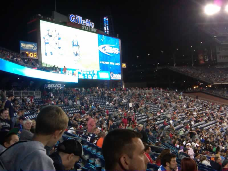 Gillette Stadium Section 137 Seats