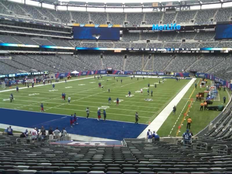 MetLife Stadium Section 148 - Giants/Jets - RateYourSeats.com
