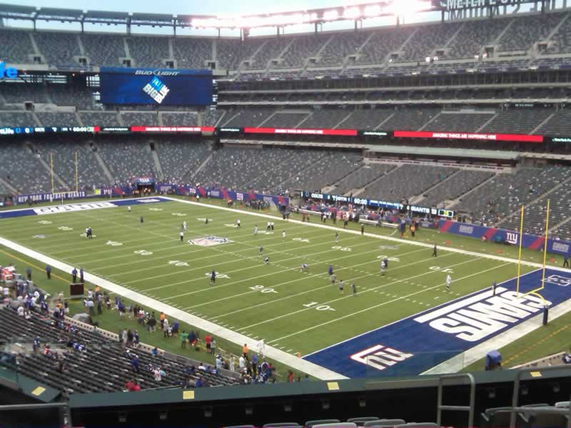 MetLife Stadium Section 232A - Giants/Jets - RateYourSeats.com
