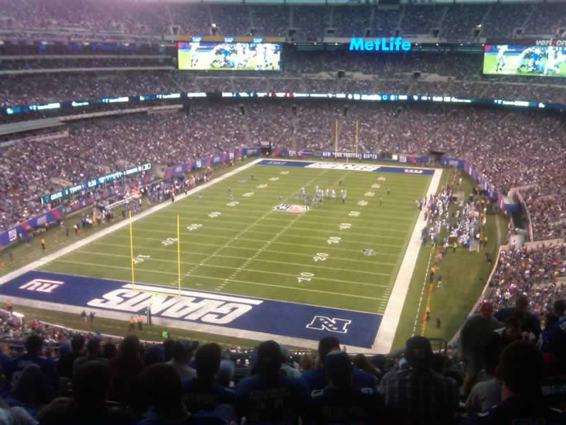 Seat View for MetLife Stadium Section 249B