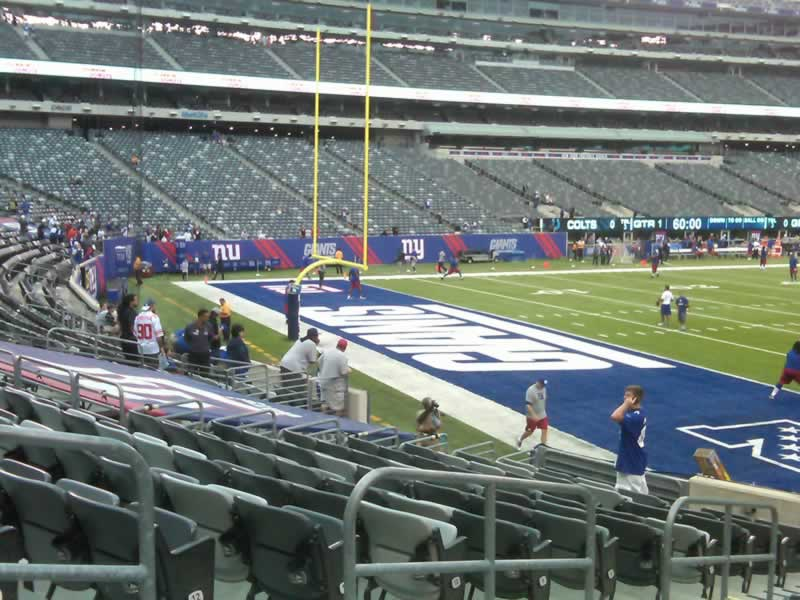 Seat View for MetLife Stadium Section 146, Row 15, Seat 15