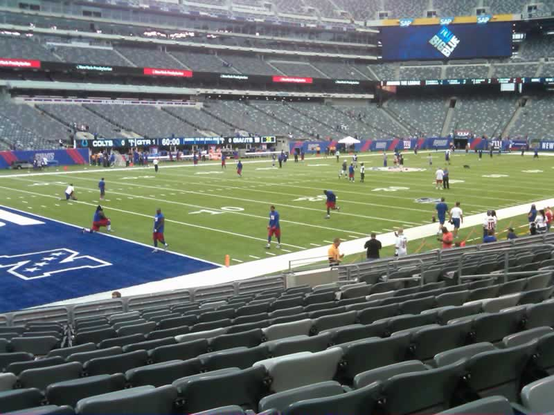 Seat View for MetLife Stadium Section 144, Row 13, Seat 11