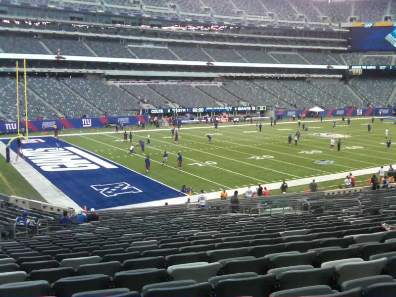 Seat View for MetLife Stadium Section 144, Row 30, Seat 16