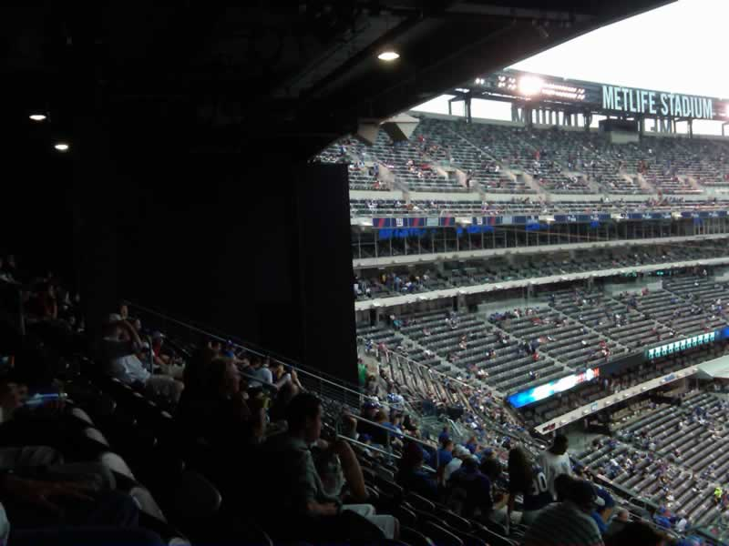 Seat View for MetLife Stadium Section 227B, Row 16, Seat 5