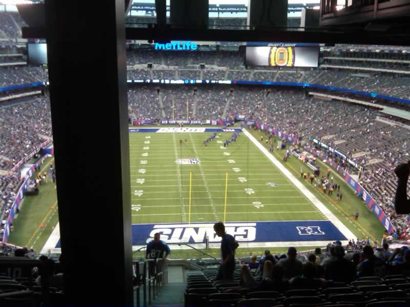 Seat View for MetLife Stadium Section 226, Row 18, Seat 30