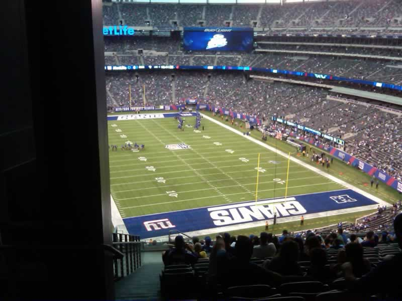 Seat View for MetLife Stadium Section 228B, Row 18, Seat 26