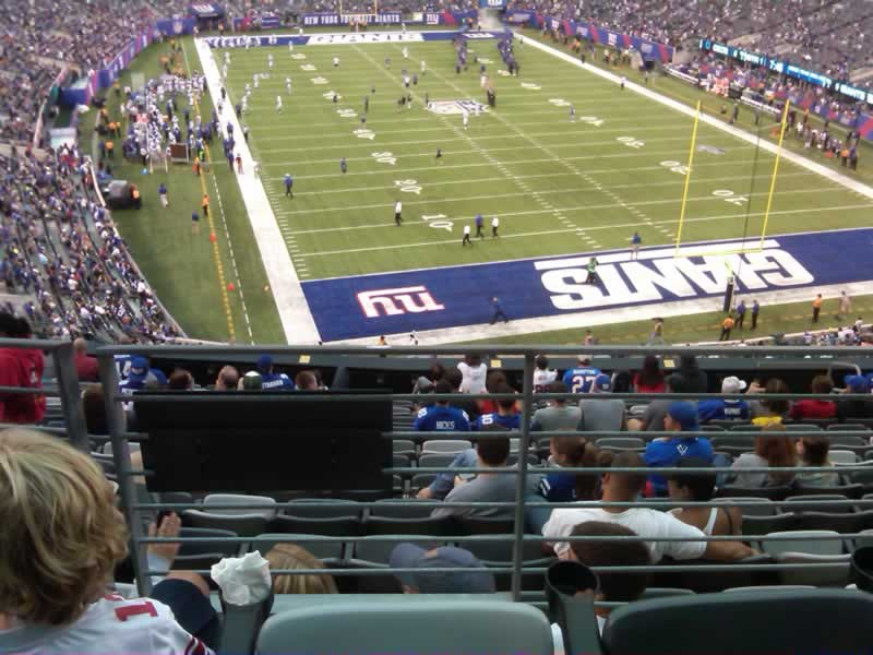 Seat View for MetLife Stadium Section 229, Row 15, Seat 10