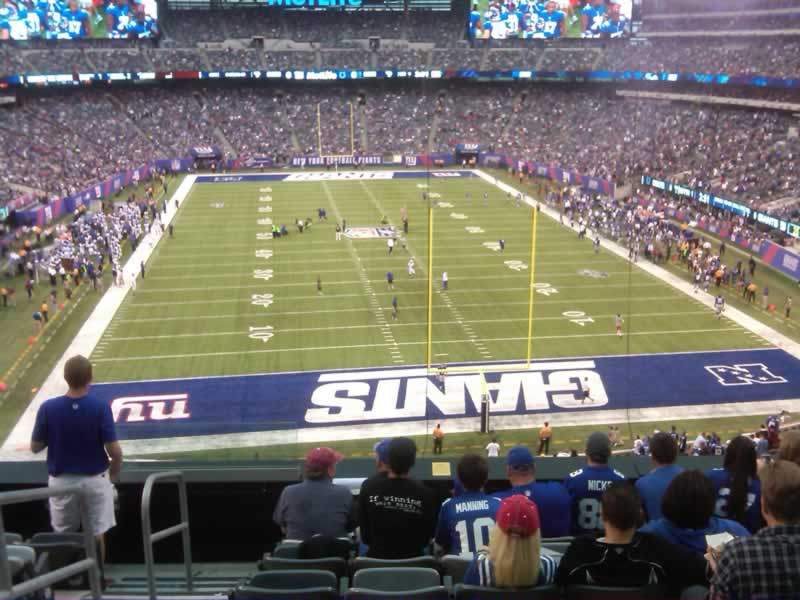 Seat View for MetLife Stadium Section 227A, Row 8, Seat 21