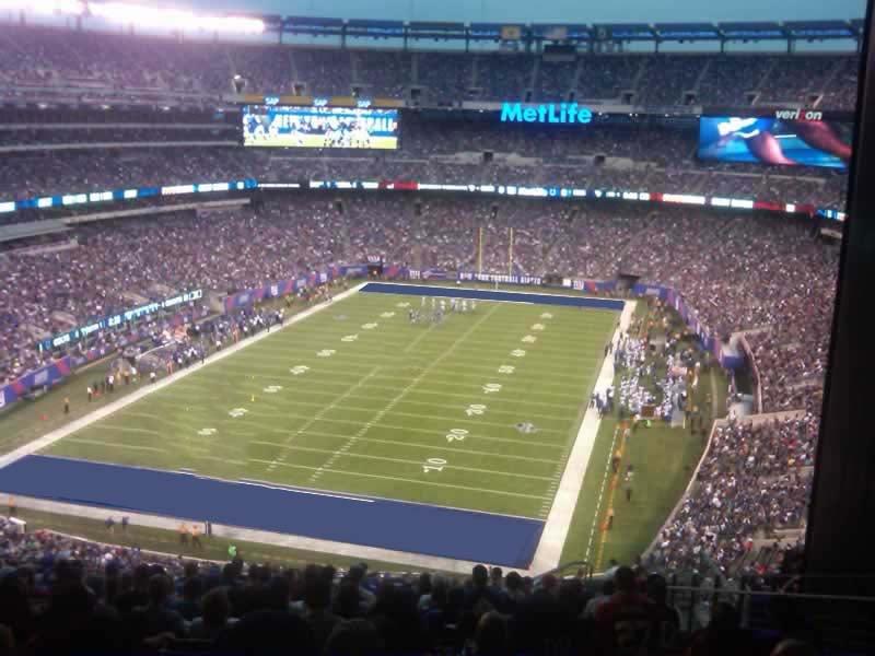 Metlife Stadium Section 249b Giants Jets Rateyourseats Com