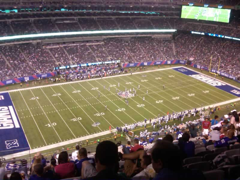 Seat View for MetLife Stadium Section 342, Row 19, Seat 23