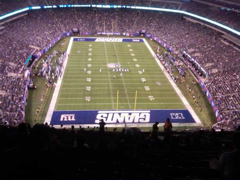 Seat View for MetLife Stadium Section 327, Row 24, Seat 8