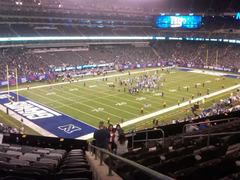 Seat View for MetLife Stadium Section 245A, Row 12, Seat 1