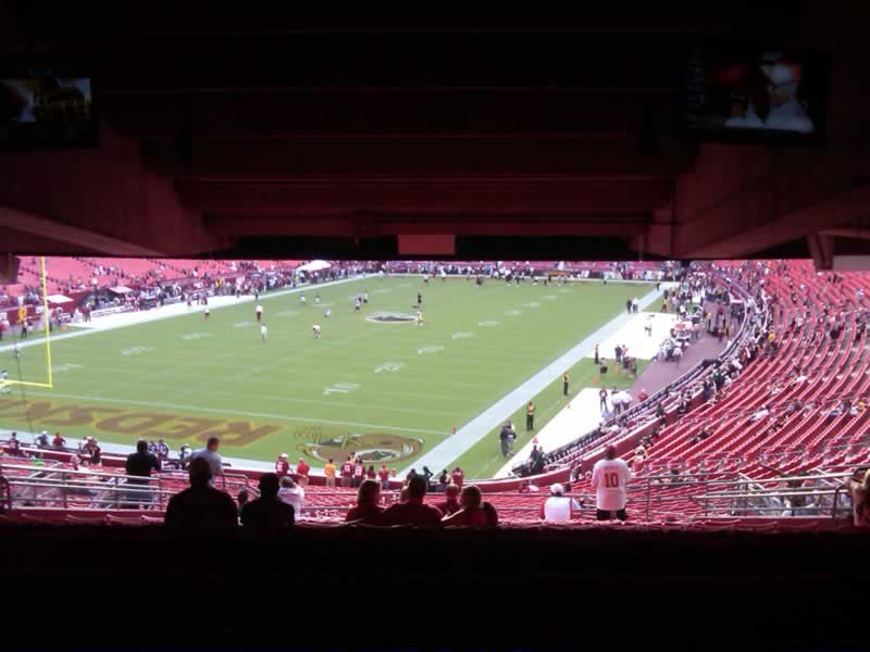 Seat View for FedExField Section 229, Row 19, Seat 17