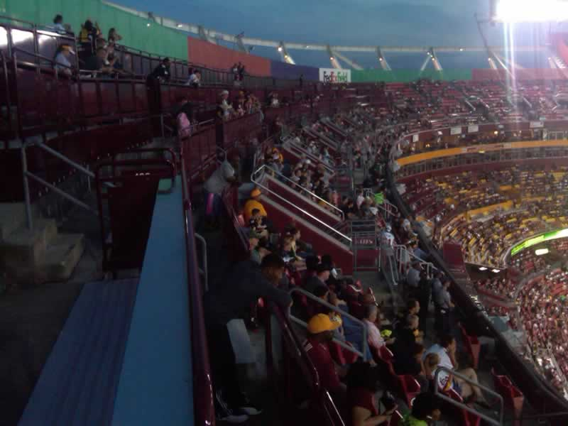 Seat View for FedExField 437 SRO, Row 9