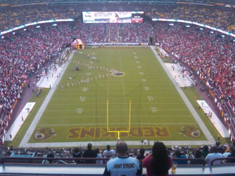 Seat View for FedExField 441 SRO, Row 13
