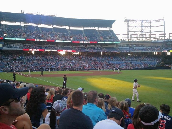 Seat View for Turner Field Section 125, Row 11, Seat 104