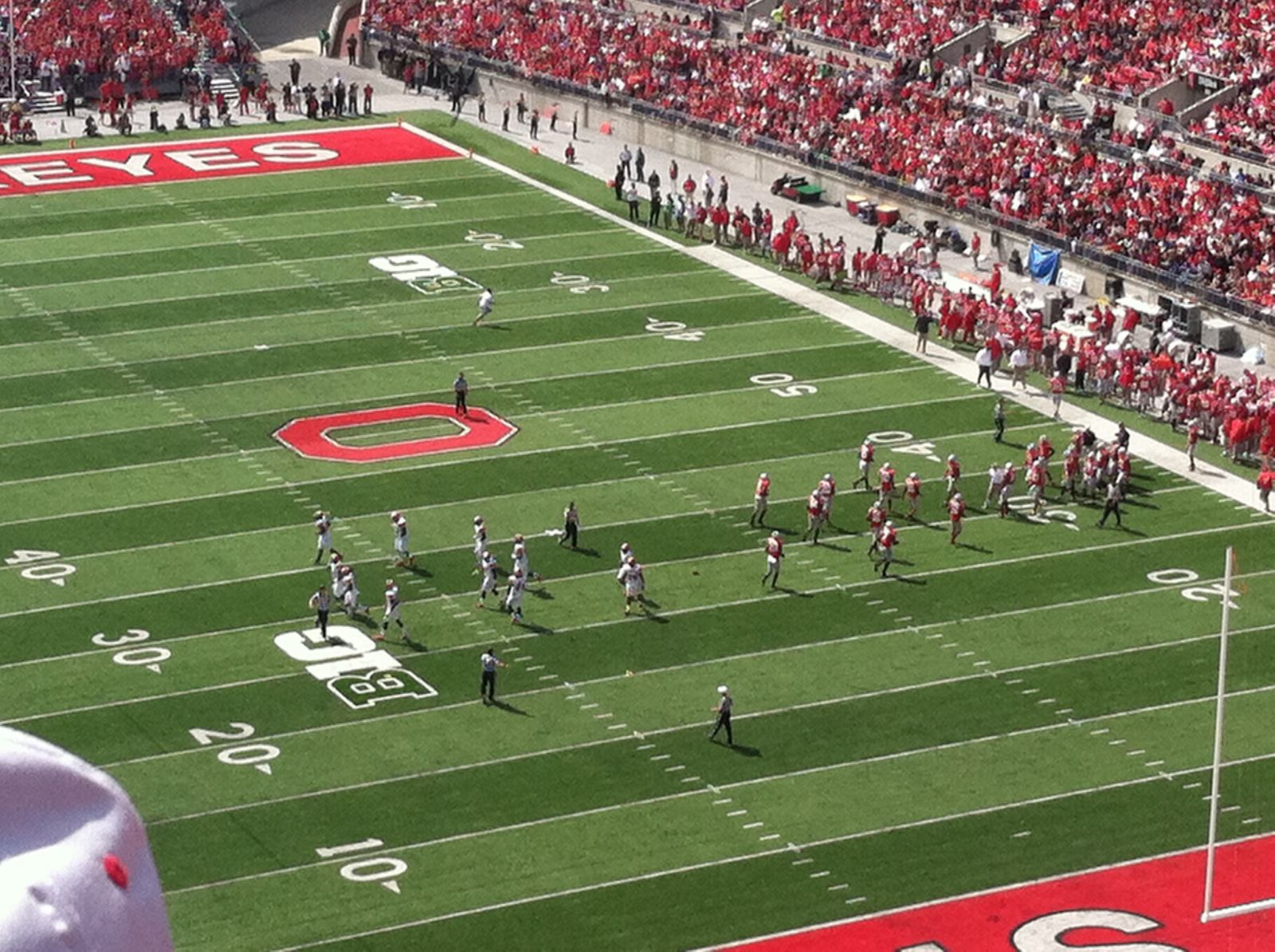 Seat View for Ohio Stadium Section 8C, Row 27, Seat 11