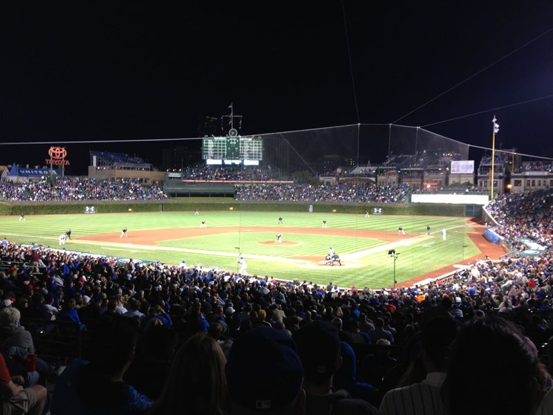 Seat View for Wrigley Field Section 219, Row 7, Seat 4