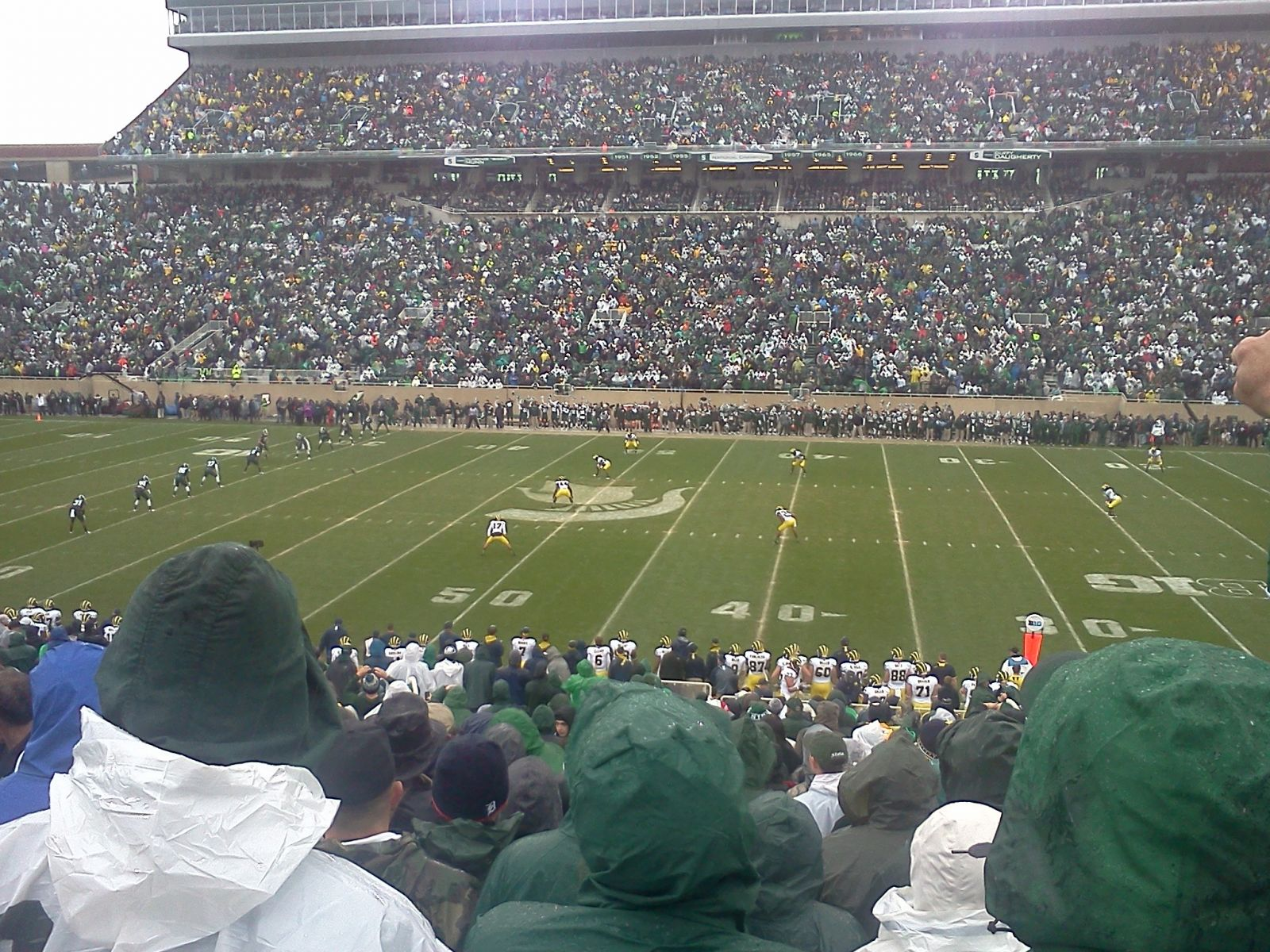 Seat View for Spartan Stadium Section 8, Row 35, Seat 13