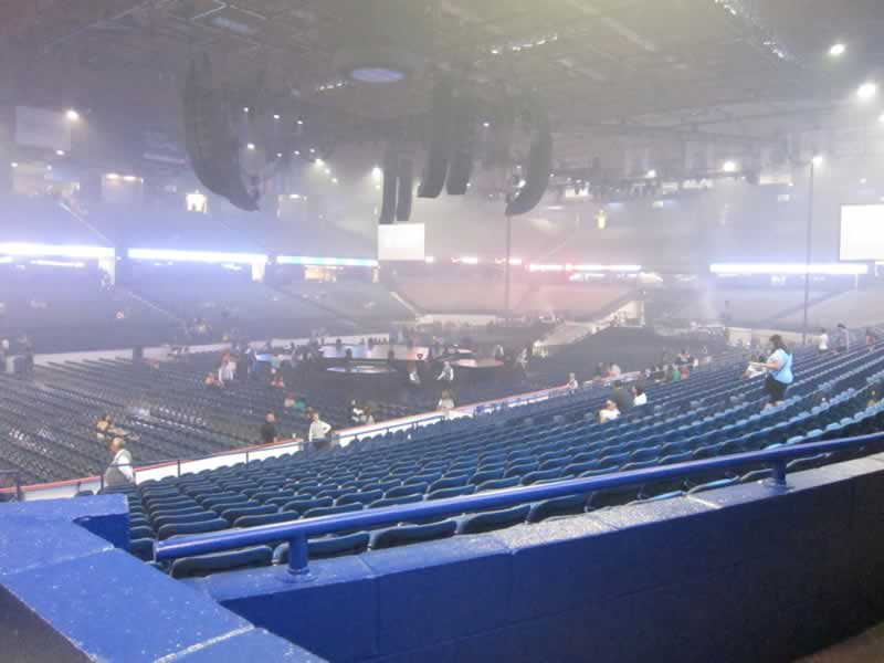 Concert Seat View for Allstate Arena Section 113