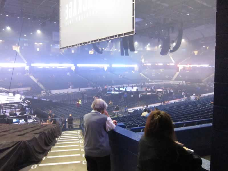 Concert Seat View for Allstate Arena Section 104