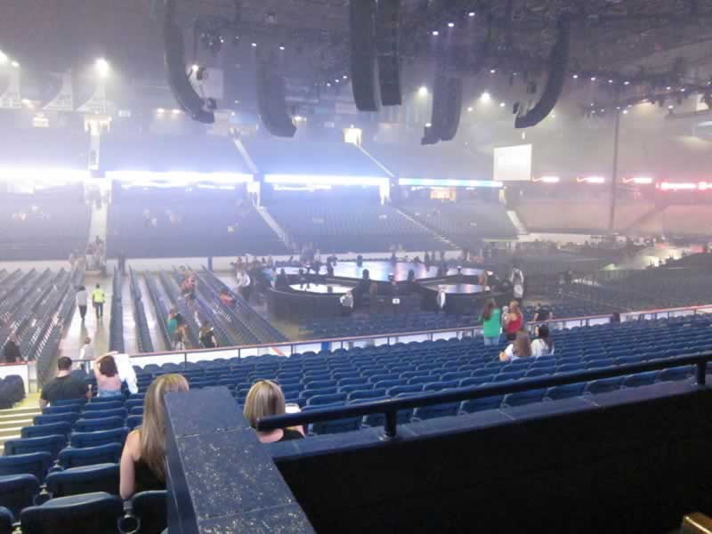 Concert Seat View for Allstate Arena Section 112