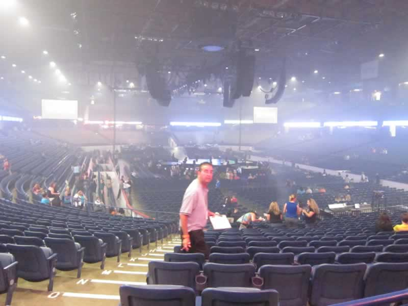 Allstate Arena Section 115 Concert Seating Rateyourseats Com