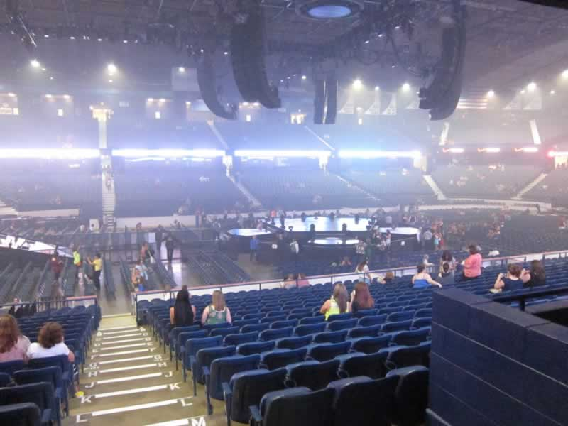 Concert Seat View for Allstate Arena Section 103