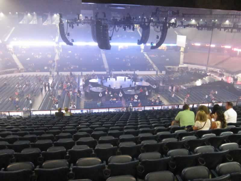 Concert Seat View for Allstate Arena Section 211