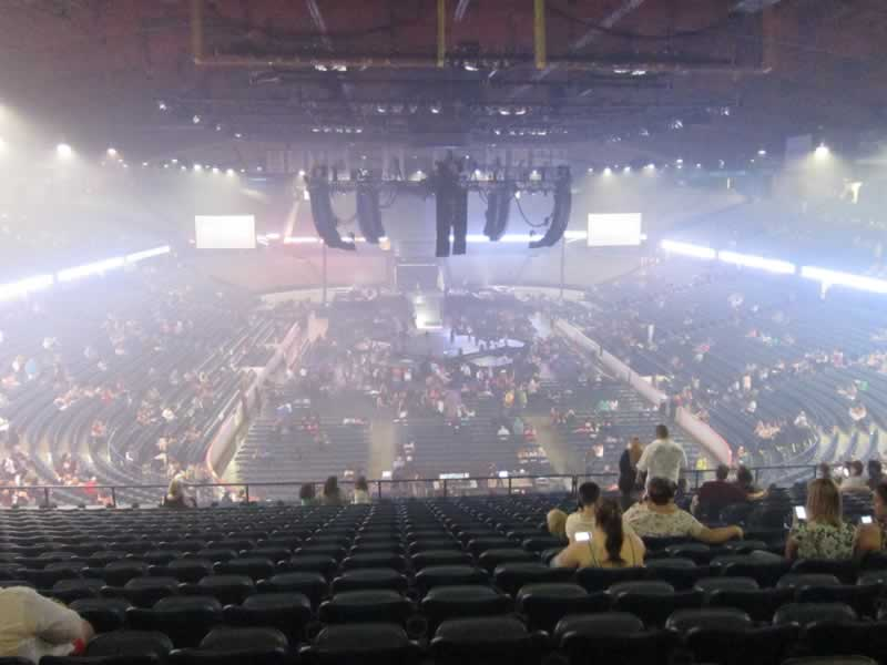 Concert Seat View for Allstate Arena Section 215, Row R, Seat 7