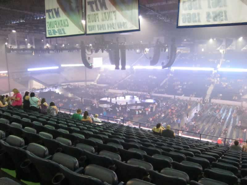 Concert Seat View for Allstate Arena Section 201, Row O, Seat 16