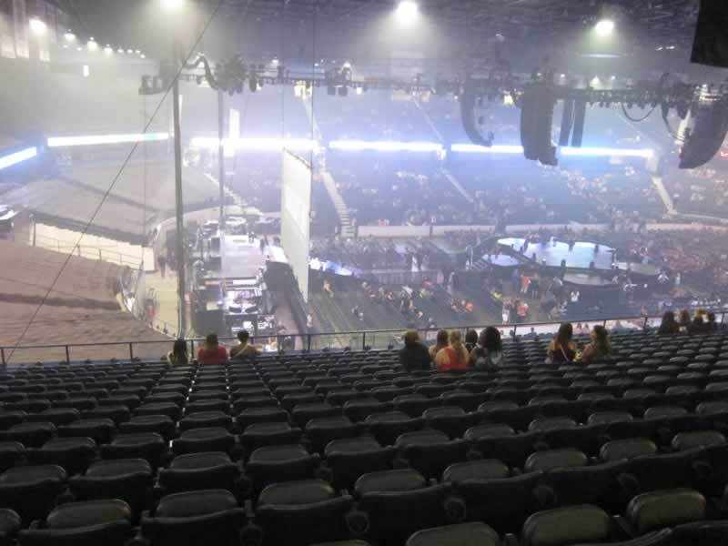 Concert Seat View for Allstate Arena Section 204, Row P, Seat 21