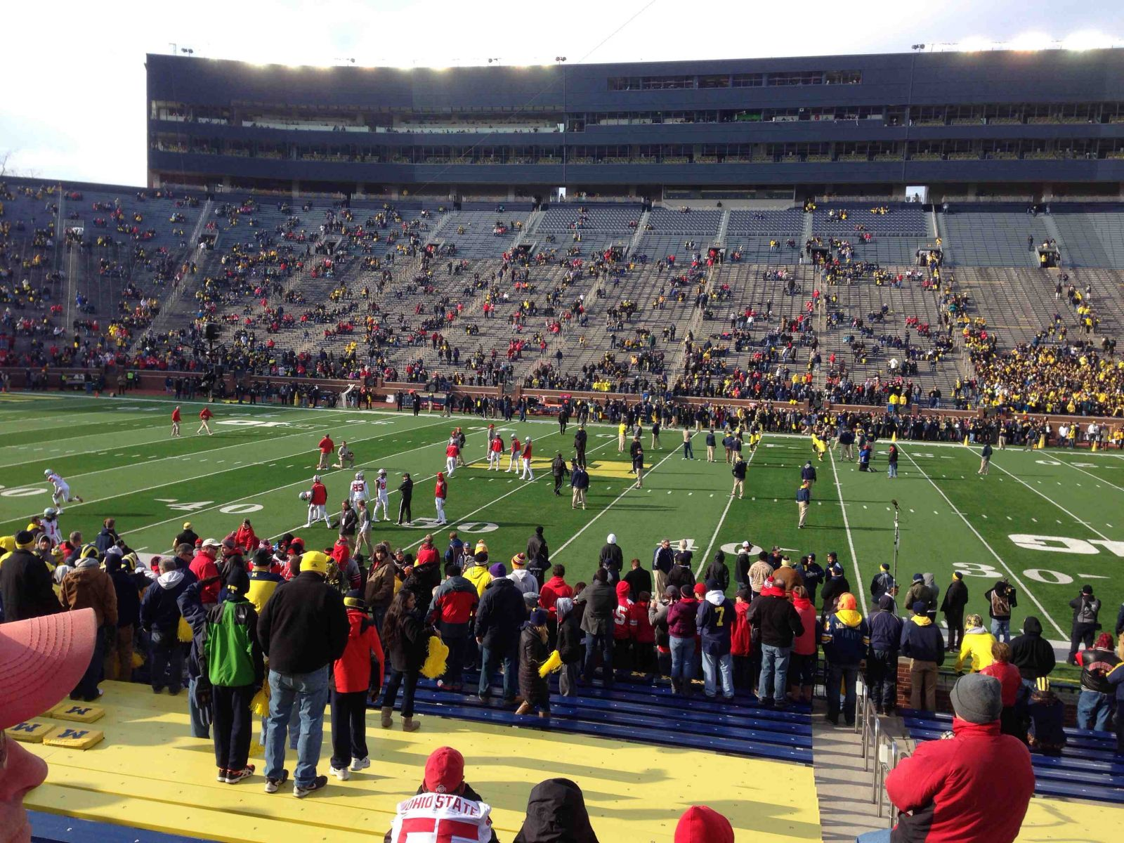 Seat View for Michigan Stadium Section 44, Row 25, Seat 11