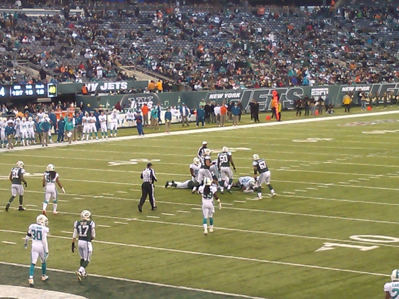 Seat View for MetLife Stadium Section 123, Row 18, Seat 1