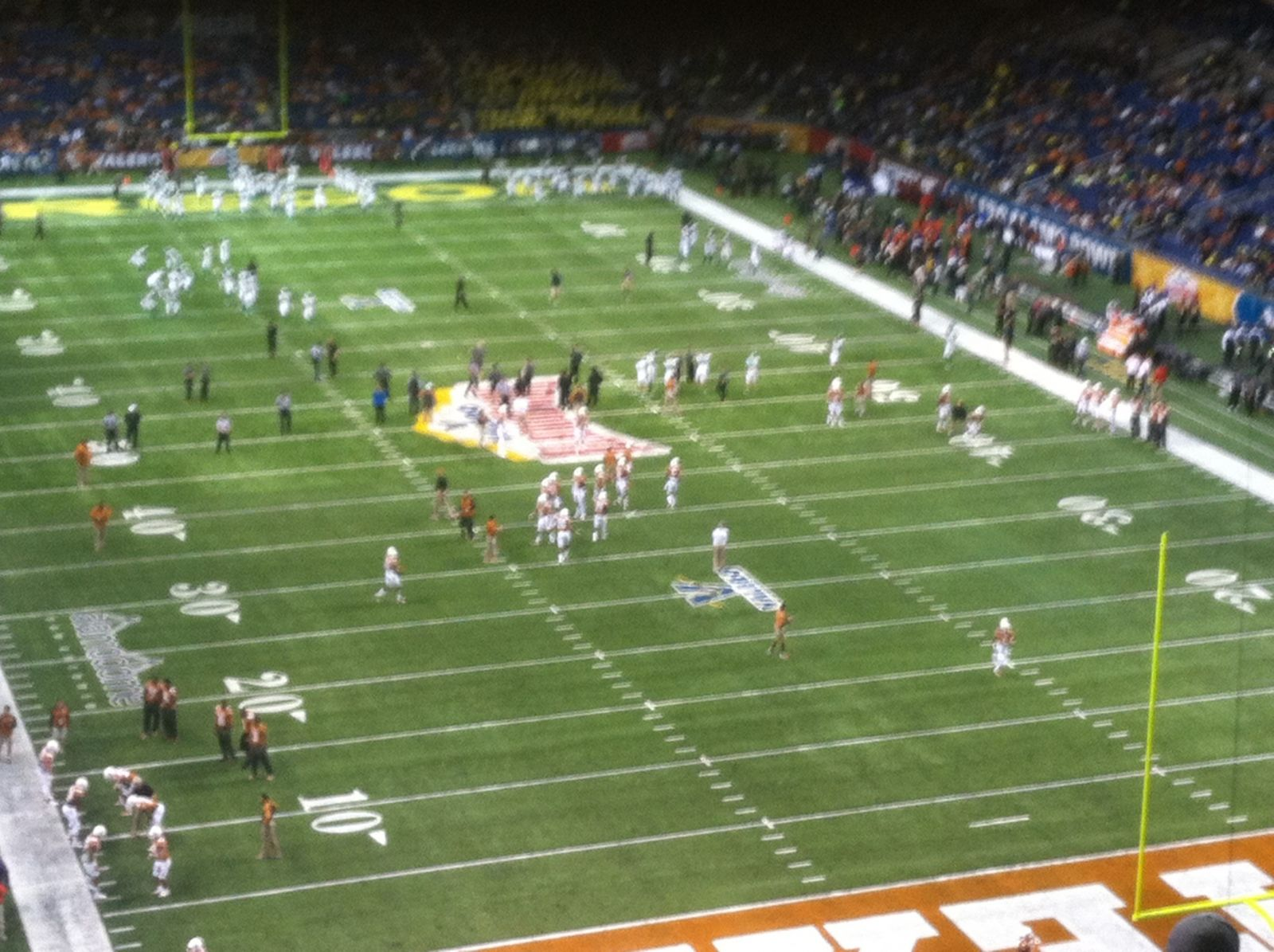 UTSA Roadrunners Seat View for Alamodome Section 327, Row 20, Seat 13