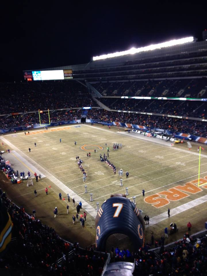 Seat View for Soldier Field Section 428, Row 27, Seat 6