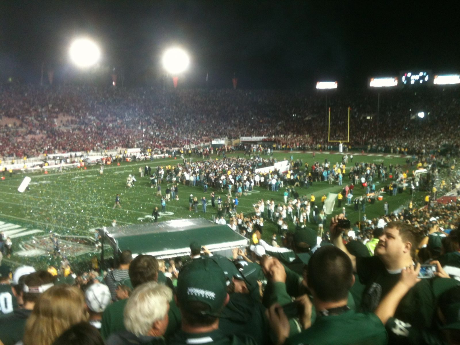 Seat View for Rose Bowl Stadium Section 15, Row 38, Seat 15