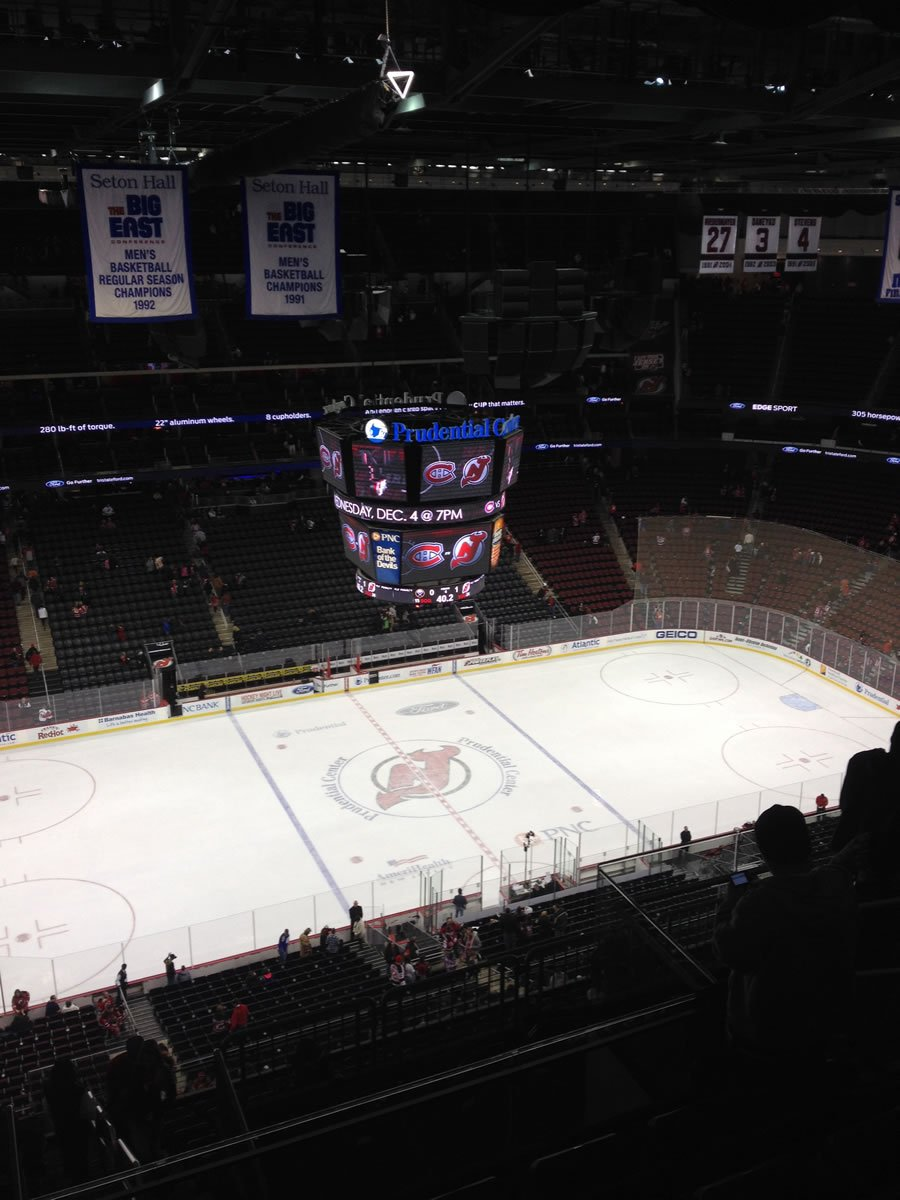 New Jersey Devils Seat View for Prudential Center Section 228, Row 9, Seat 9