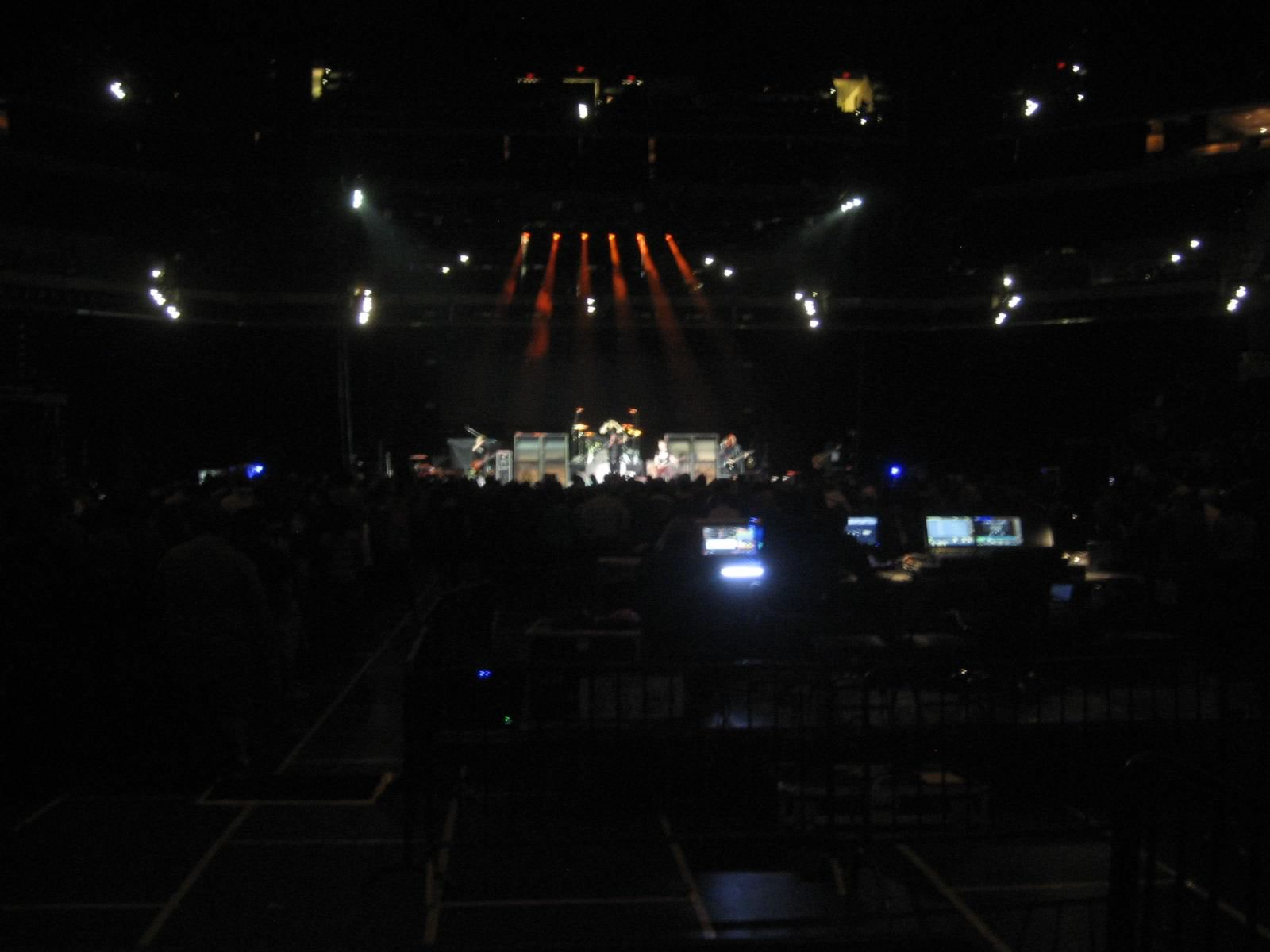 Concert Seat View for Bankers Life Fieldhouse Section 11