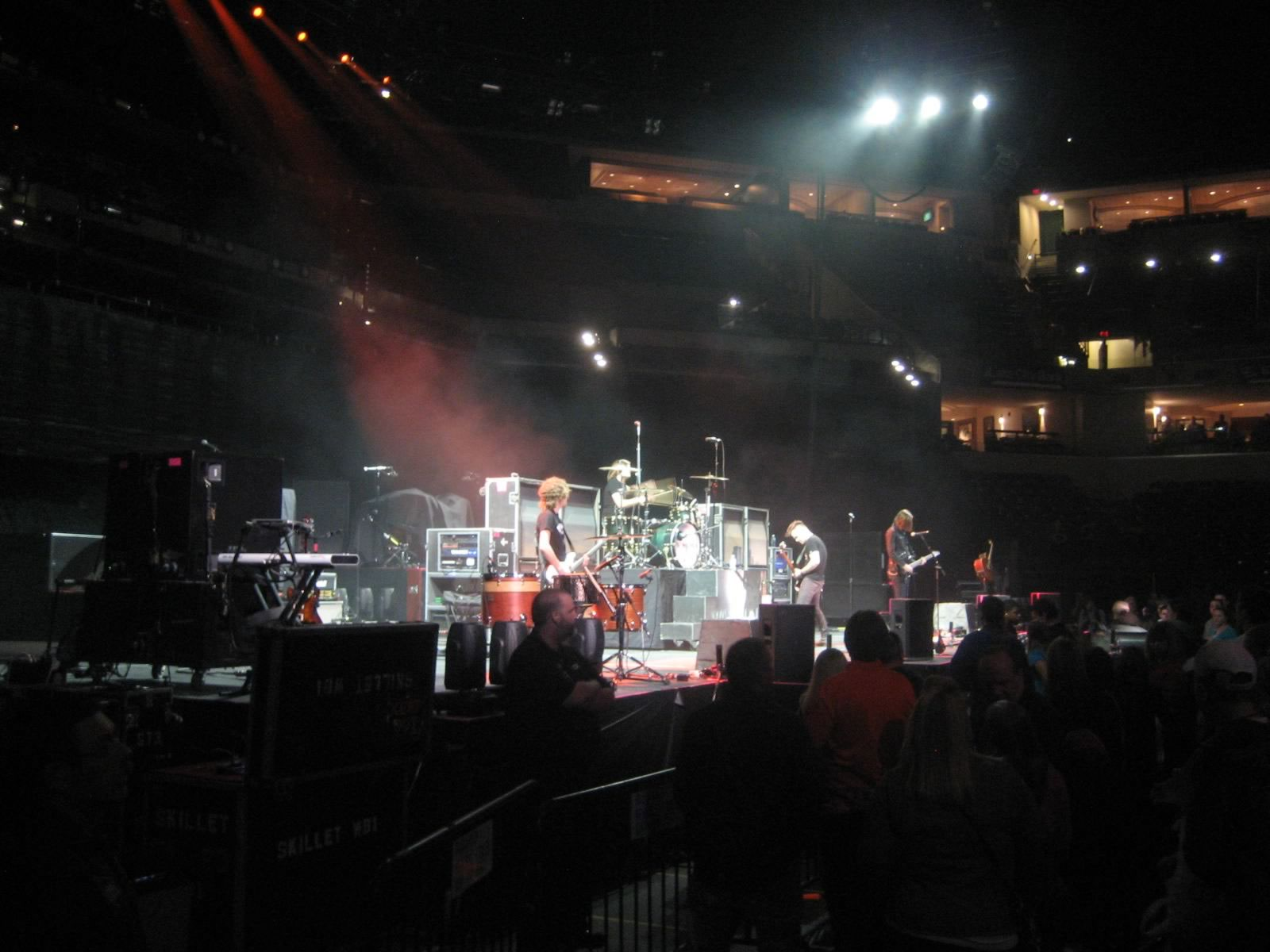 Best Seats For a Concert!: Bankers Life Fieldhouse Section 18 Review