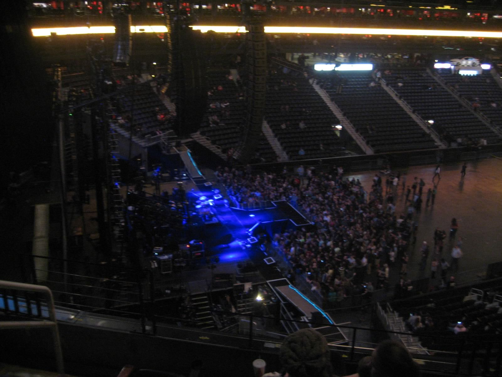 Concert Seat View for Philips Arena Section 314, Row E, Seat 17