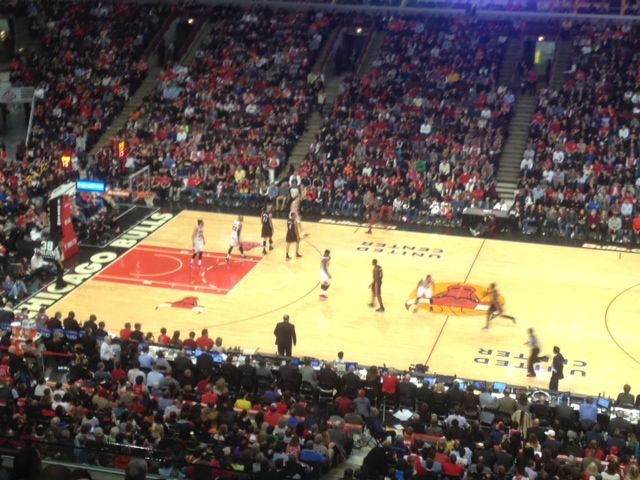Chicago Bulls Seat View for United Center Section Unmapped