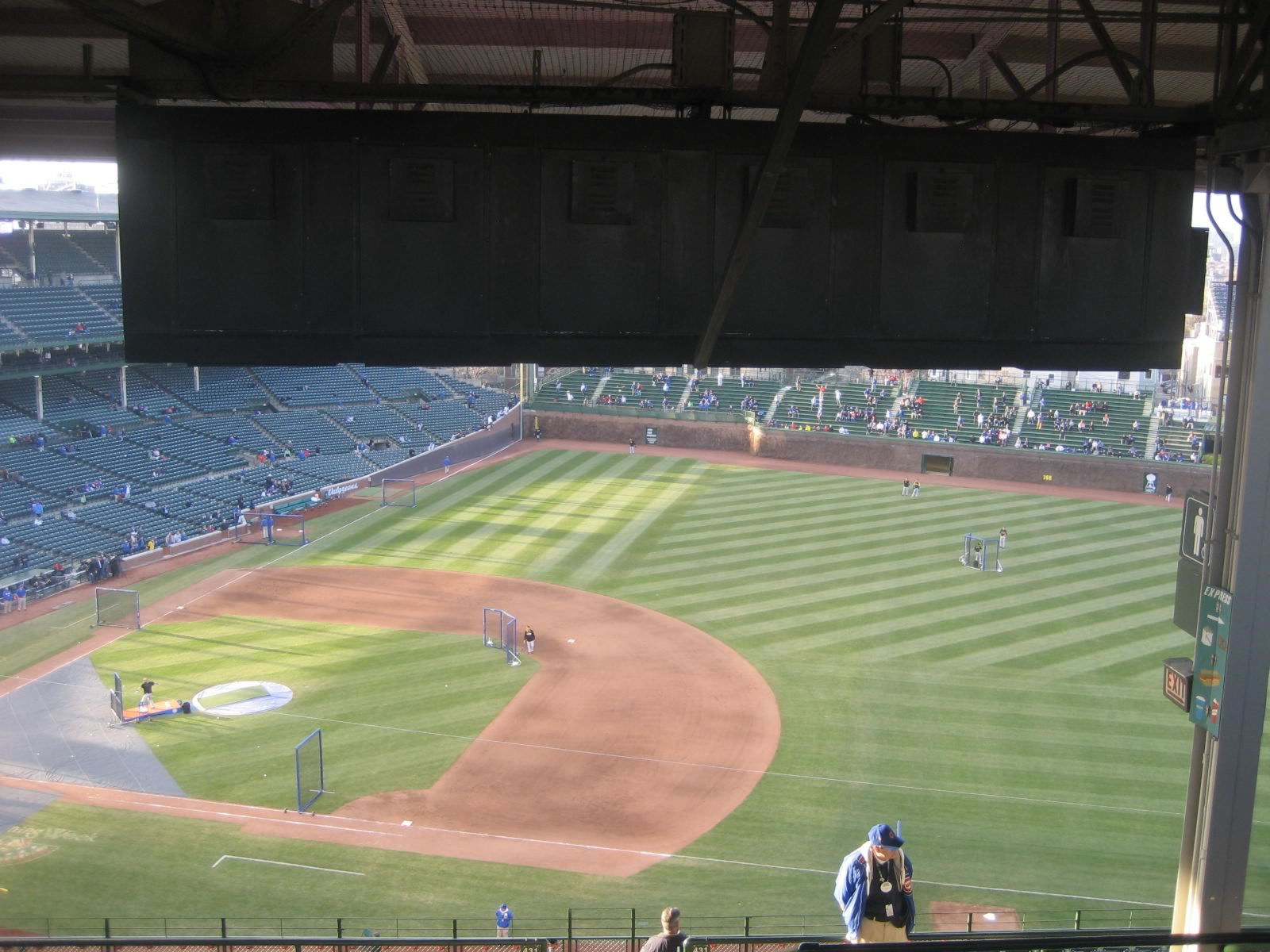 Seat View for Wrigley Field Section 532, Row 9, Seat 110