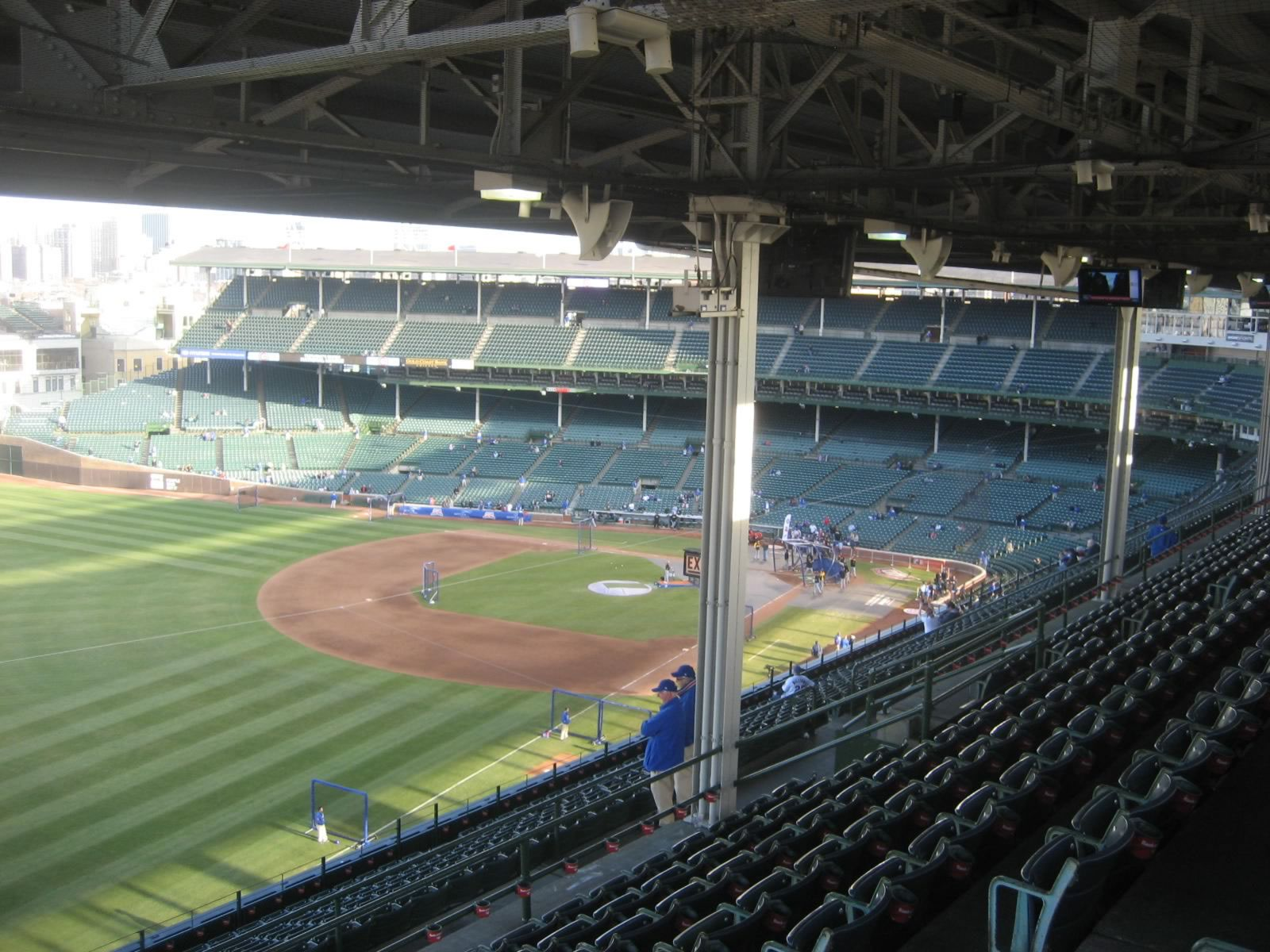 Seat View for Wrigley Field Section 503, Row 8, Seat 107
