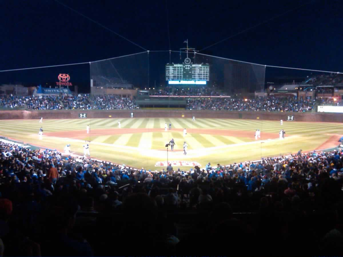 Seat View for Wrigley Field Section 222, Row 6, Seat 9