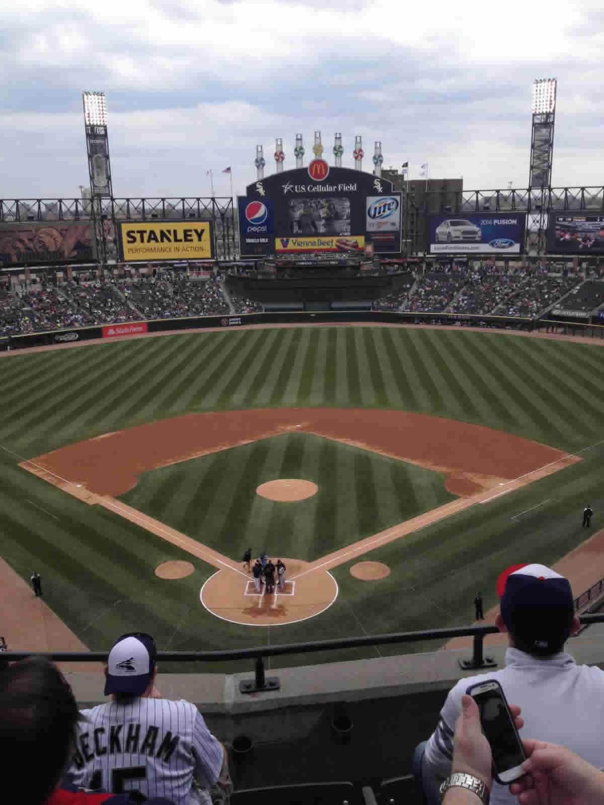 Seat View for Guaranteed Rate Field Section 531, Row 4, Seat 3