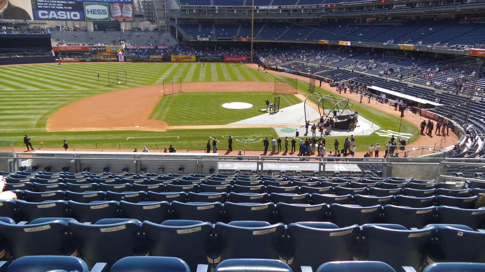Yankee Stadium Section 224 - New York Yankees - RateYourSeats.com