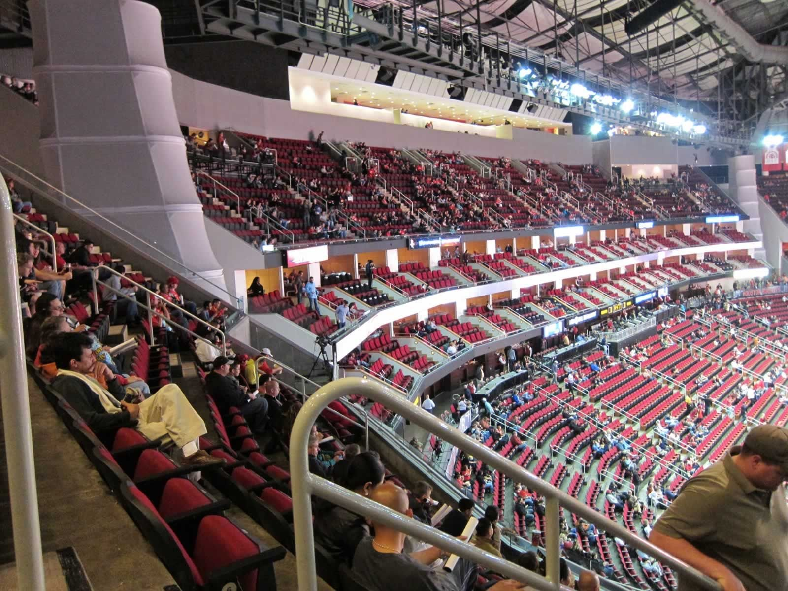 Toyota Center Section 402 Seats