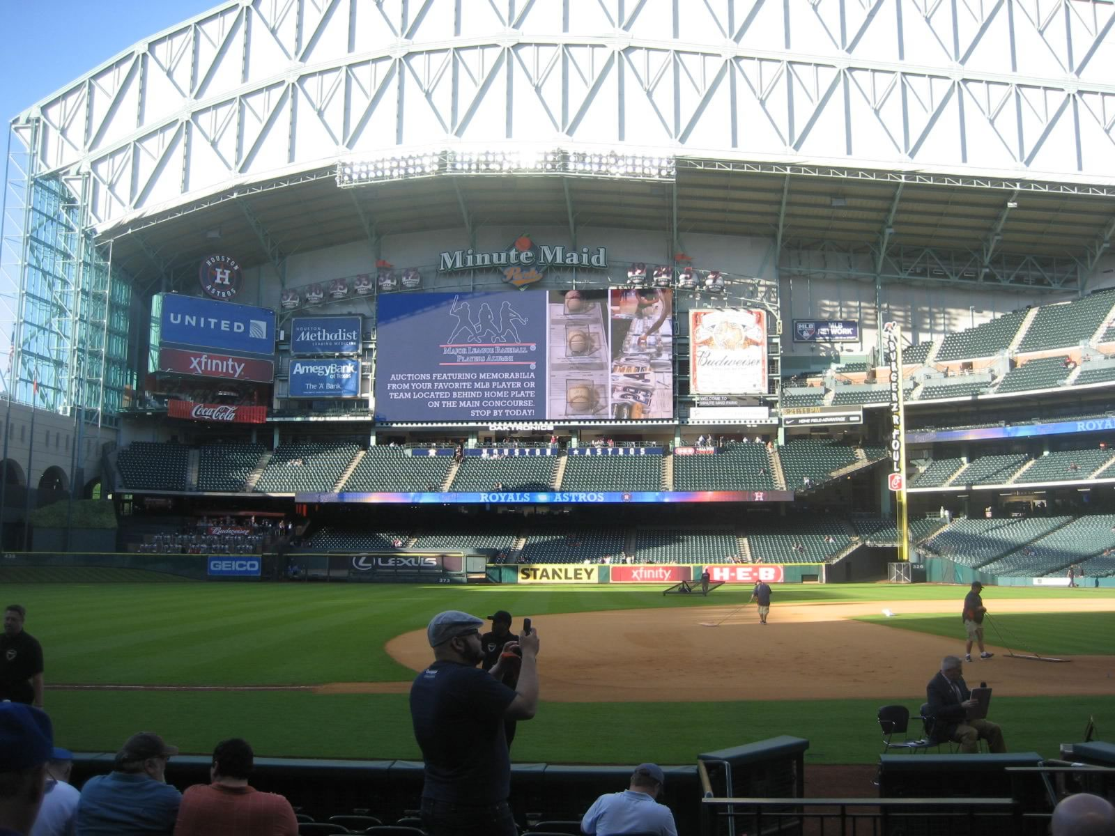 Seat View for Minute Maid Park Section 122, Row 11, Seat 15
